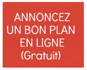 Annoncez un bon plan en ligne