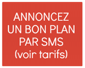 Annoncez un bon plan par SMS