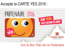 Carte YES 2016